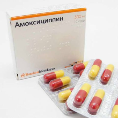 Амоксициллин для лечения бронхита бактериального происхождения.