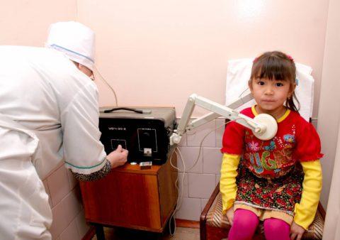 Физиопроцедуры безопасны для детей