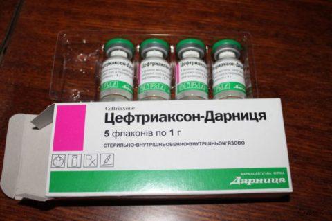 Когда рекомендуют применение инъекционных антибиотиков.