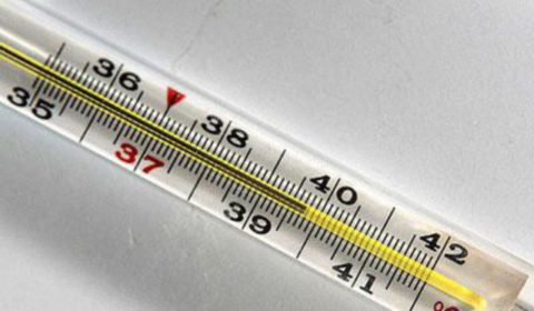 Повышение температуры тела.