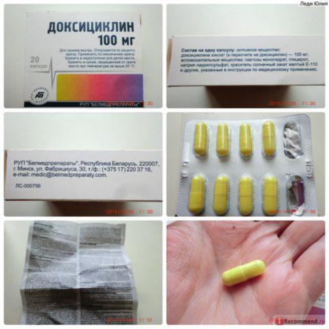 Применение лекарственного средства.