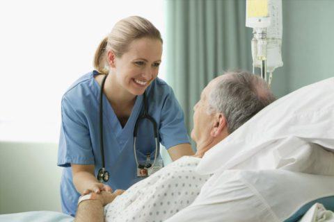 Процедуры сестринского ухода позволяют больному скорее восстановиться.