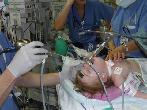 Бронхоскопия детям.