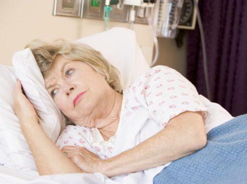 Достаточную опасность для жизни пациента представляет пневмония, проявившаяся после инсульта.