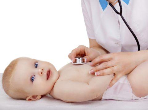 Госпитализации подлежат дети до года