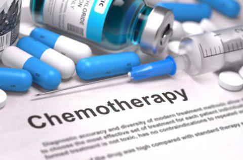 Химия при раке легких.