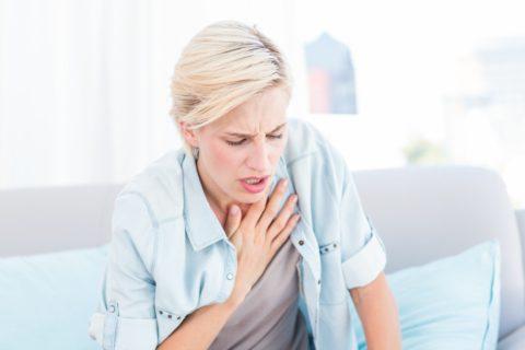 Кашель, одышка, боли в груди — симптомы патологии