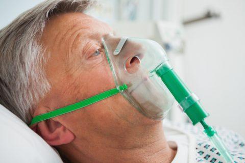 Кислородная терапия применяется активно