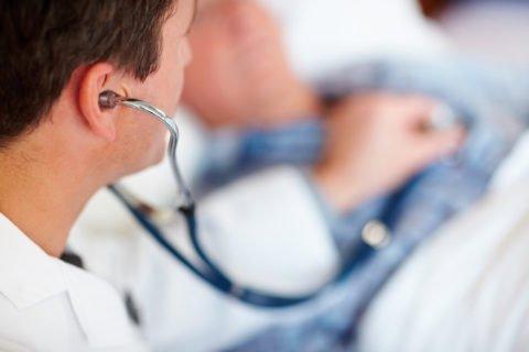 Очаговый фиброз может протекать бессимптомно.