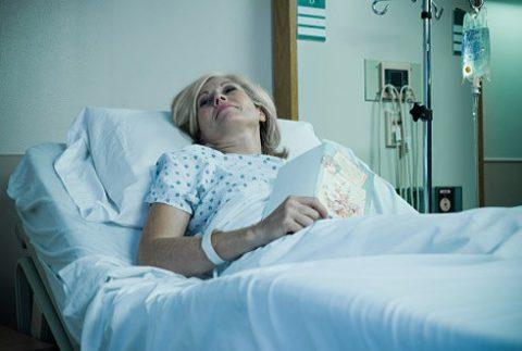 Оптимальное положение для пациента при застое в легких.