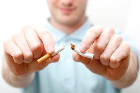 Отказ от курения поможет предотвратить болезни легких