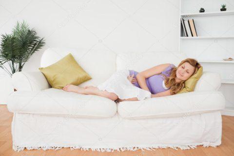 После процедуры стоит отдохнуть в спокойных условиях