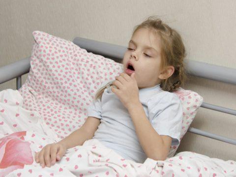 Воспаление легких у ребенка.