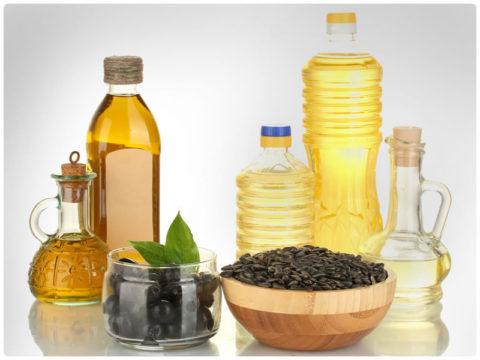 Растительное масло – простое и полезное средство для приготовления компресса.