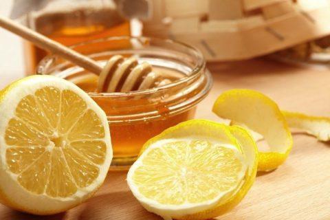 Рецепт на основе лимона и меда.