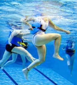 Занятия в воде.