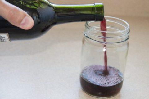 Ореховый настой на вине