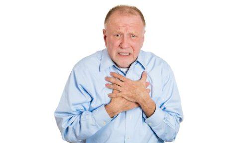 Сильная боль в грудной клетке