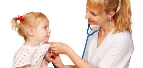 Аускультация ребенка (фото)