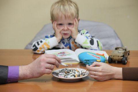 Пассивное курение – одна из причин бронхита