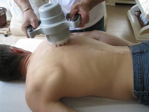 Аппаратный вибрационный массаж