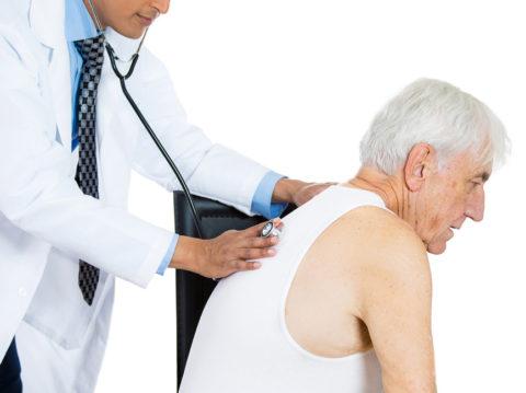 Пневмония у стариков
