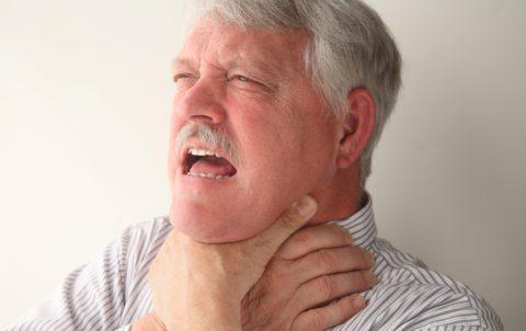 Интенсивность симптомов зависит от объемов поражения.