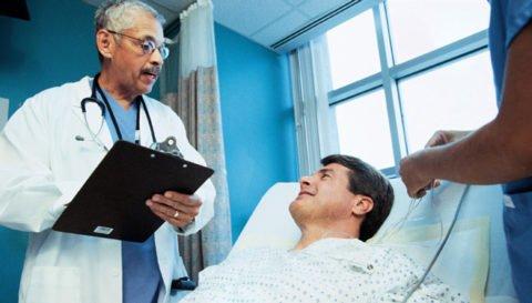 В некоторых случаях требуется госпитализация.