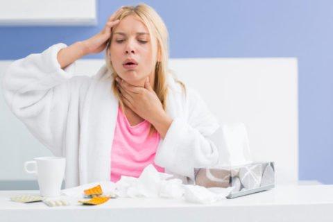 При появлении перечисленных симптомов стоит обратится к врачу.