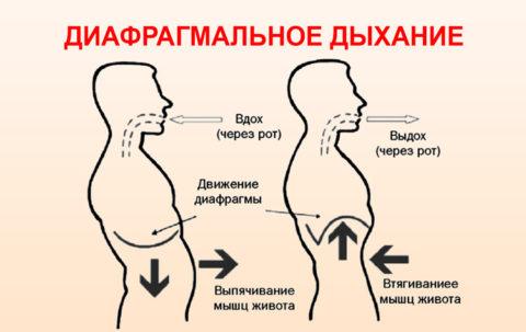 Улучшение работы диафрагмы особенно полезно если были заболевания плевры