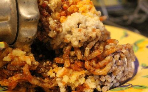 Витаминная смесь на барсучьем жире с курагой, черносливом, изюмом и медом