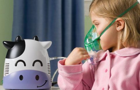 Небулайзер поможет предотвратить развитие бронхита у ребенка.