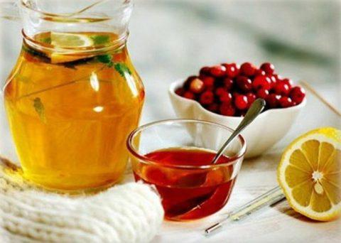 Чай с лимоном и морсы – не только витаминное питье, но и метод дезинтоксикации организма