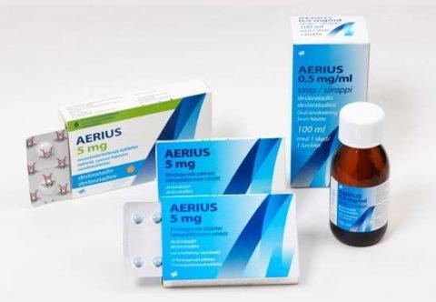 Эриус - препарат нового поколения, быстро снимает симптомы аллергии.