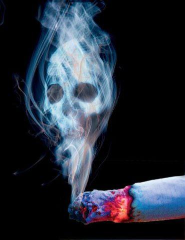 Курение, как фактор, предрасполагающий к гнойному бронхиту.