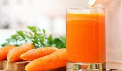 Морковь и молоко