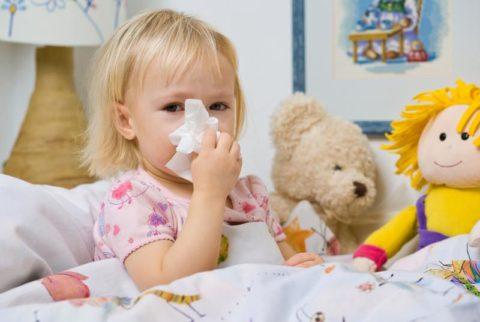 Насморк и простуда у ребенка