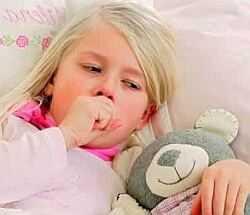 Покашливание и насморк у ребенка