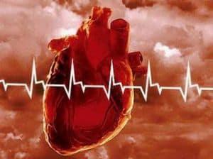 Поражение сердечной системы.