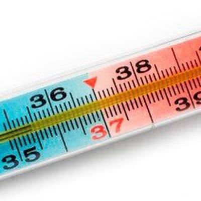 Повышение температуры тела до 38-38,5 °С