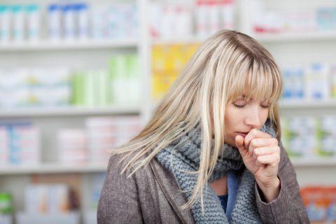 Сильный сухой кашель и одышка