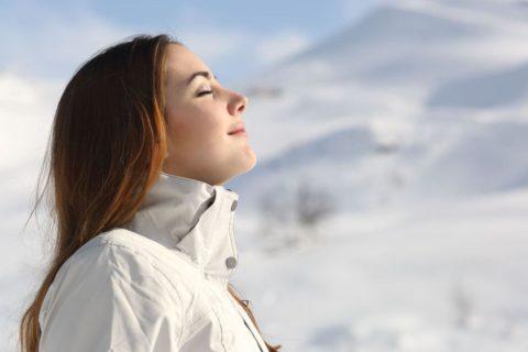 Свежий воздух способствует укреплению организма