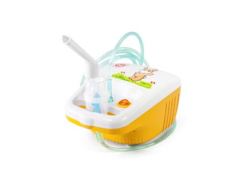 Для проведения ингаляций в домашних условиях применяют детский небулайзер