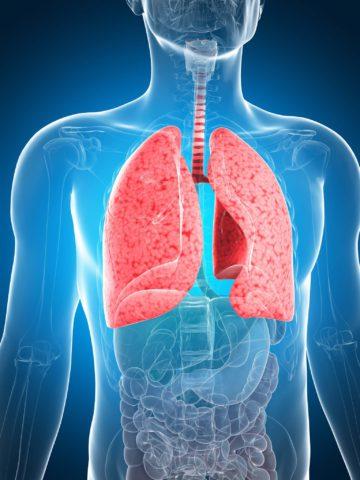 Какие симптомы беспокоят пациента при поражении легких.