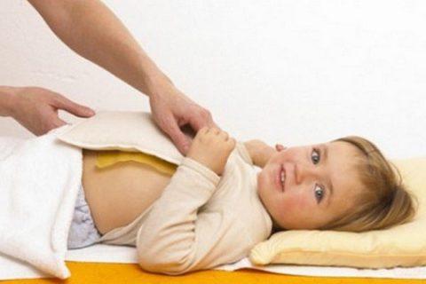Метод применяется для лечения недуга у детей.