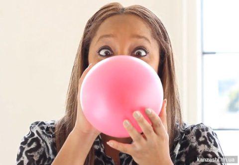 Надувание воздушных шариков как метод профилактики недуга.