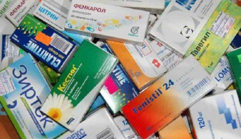 Незаменимую помощь окажут антигистаминные препараты.