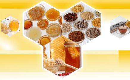 Продукты пчеловодства и сливочное масло