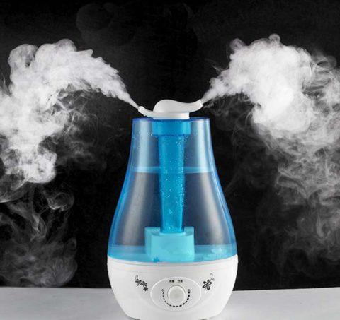 Увлажнение воздуха облегчает приступы кашля.