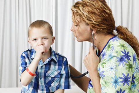 Больной туберкулезом ребенок